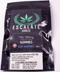 ESCALATE Gummies ( Blue Rasberry) single
