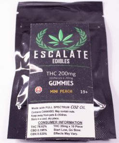ESCALATE Gummies ( Mini Peach ) single