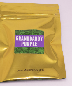 Online Dispensary Canada - Green Gold - Granddaddy Purple - Shatter