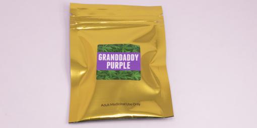 Online Dispensary Canada - Green Gold - Granddaddy Purple - Shatter