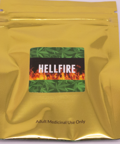 Online Dispensary Canada - Green Gold - Hellfire - Shatter