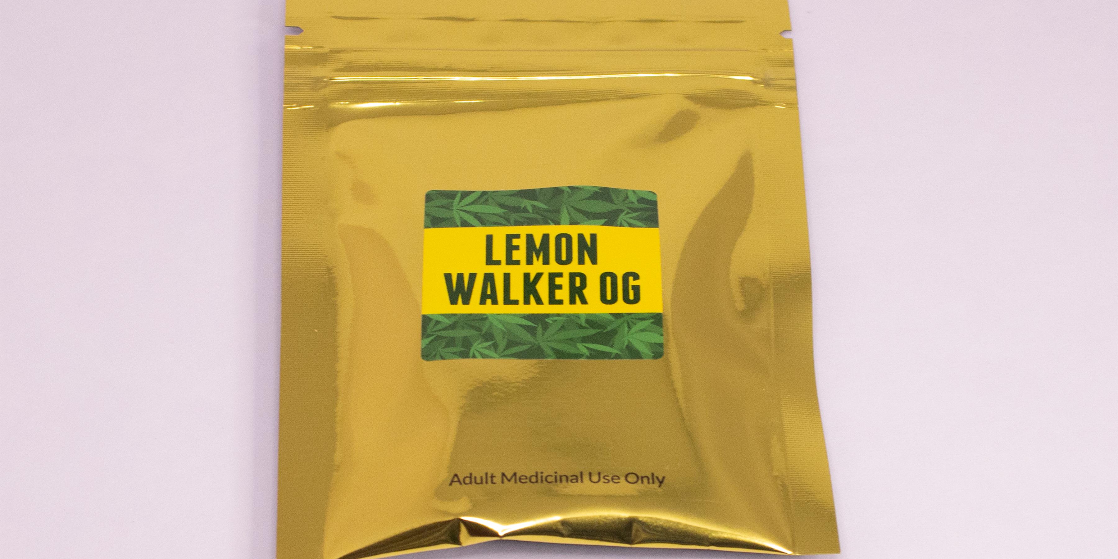 Online Dispensary Canada - Green Gold - Lemon Walker OG - Shatter