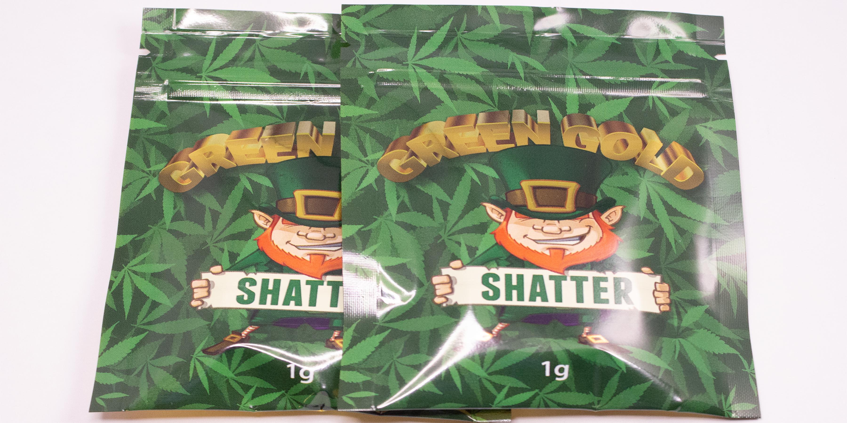 Online Dispensary Canada - Green Gold - The Original - Shatter