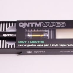 Online Dispensary Canada - QNTM Rechargable Vape (Mint)