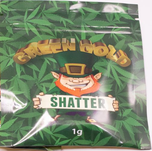 The Original Shatter - Green Gold